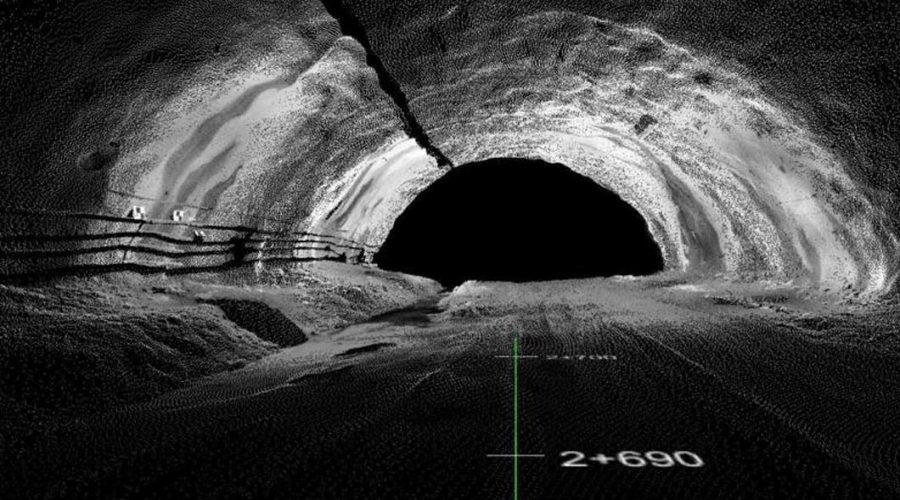 Video TCP Tunnel Replanteo y toma de datos en túneles