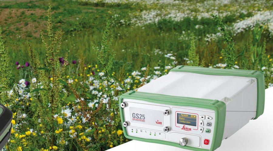 Video Receptor GNSS Leica Viva GS25
