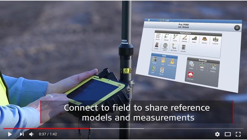 Video Control de maquinaria para rodillos y pavimentadoras