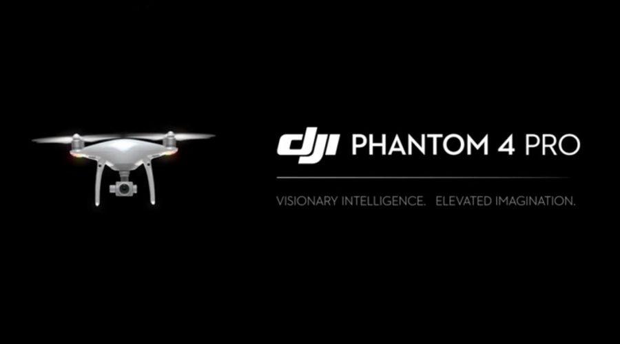 Video Dron DJI Serie Phantom 4 Pro