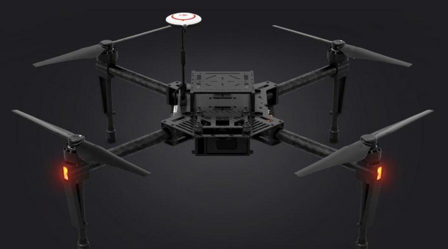 Video Dron DJI Matrice 100