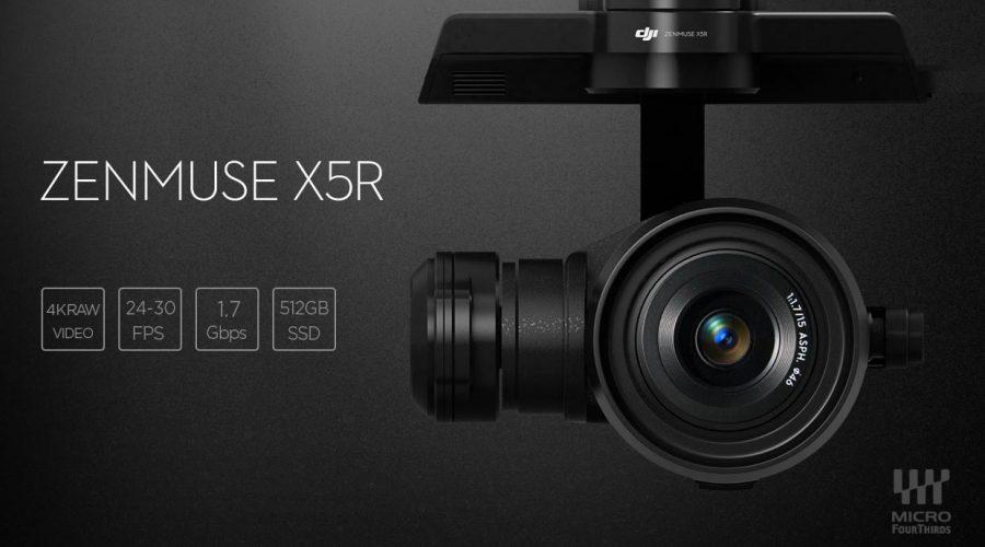Video DJI Zenmuse X5r