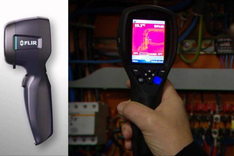 Efectividad de la cámara termográfica flir en la evaluación de edificaciones