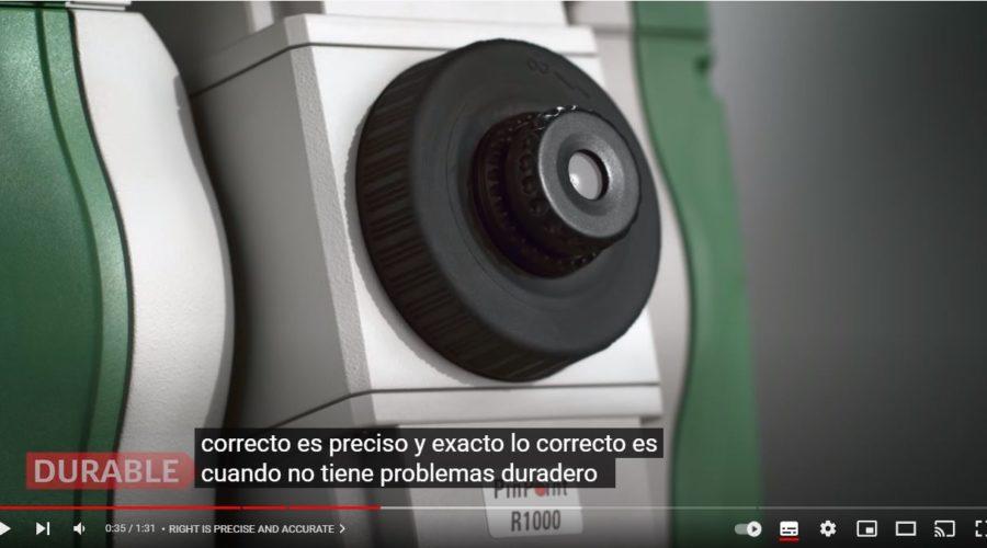 Video Estación Total Leica Flexline TS03 3″ R500