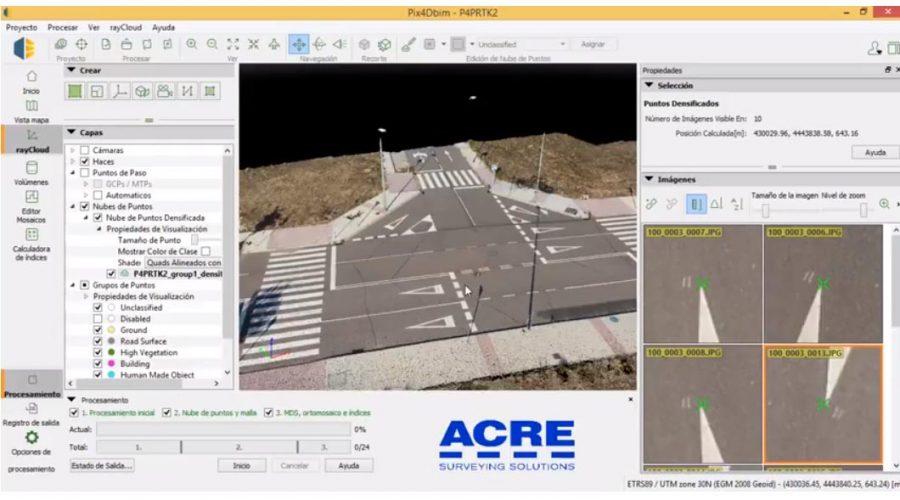 Video Phantom 4 RTK + Antena de referencia + Software de fotointerpretación