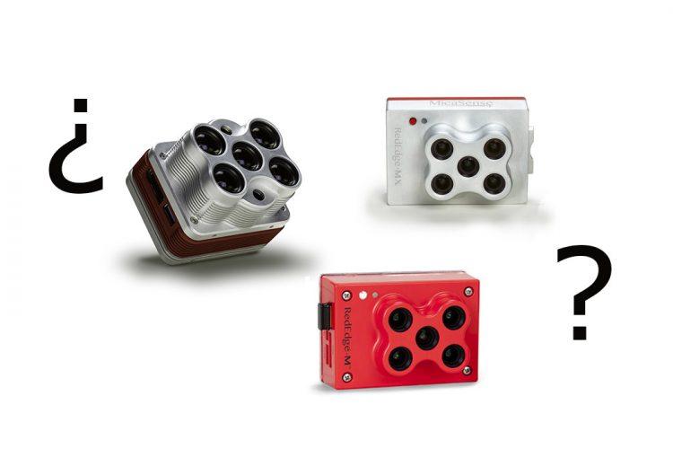 Comparativa cámaras multiespectrales