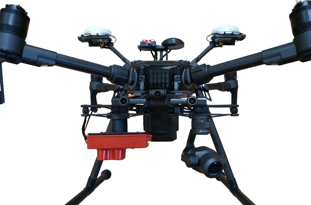Soporte para cámara Rededge-M y Rededge-MX en drones DJI |
