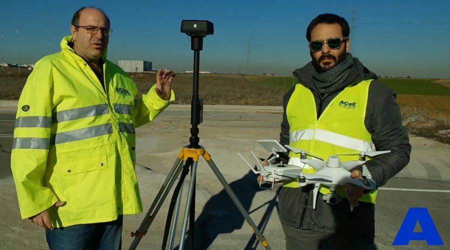 Video Dron DJI Phantom 4 RTK