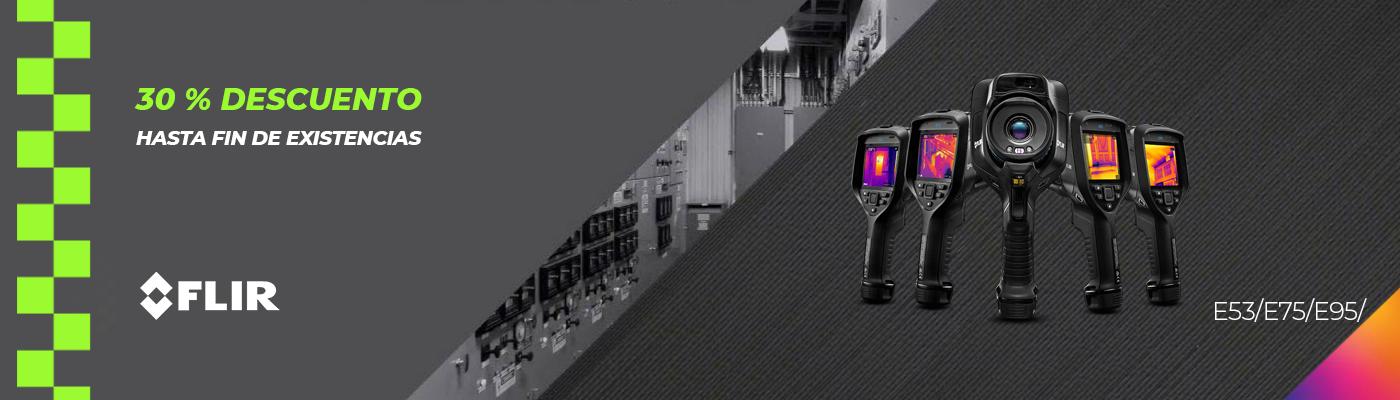 Descuento del 30% en cámaras termográficas FLIR