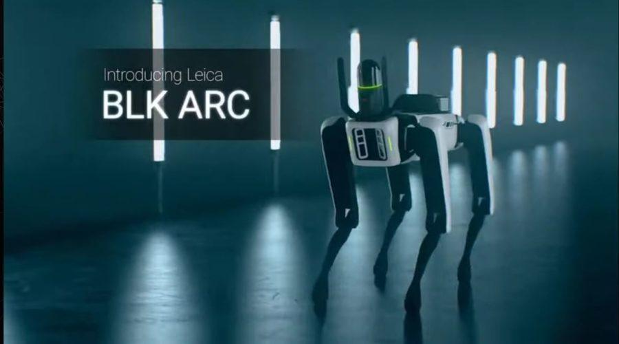 Video Láser escáner autónomo Leica BLK ARC